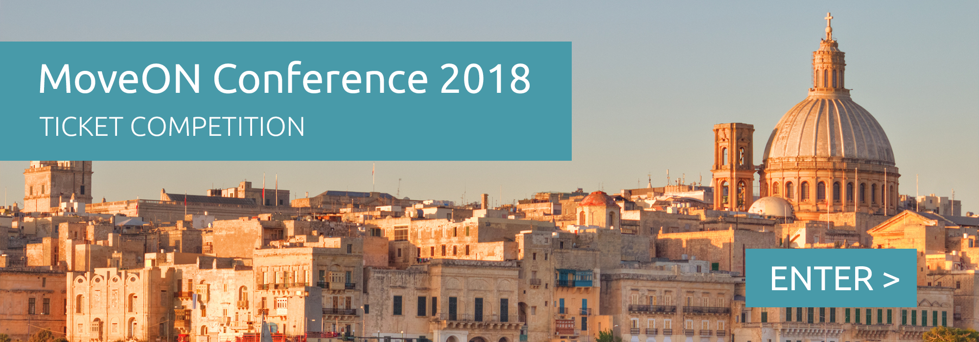 MoveONConf18 homepage - ticket competition