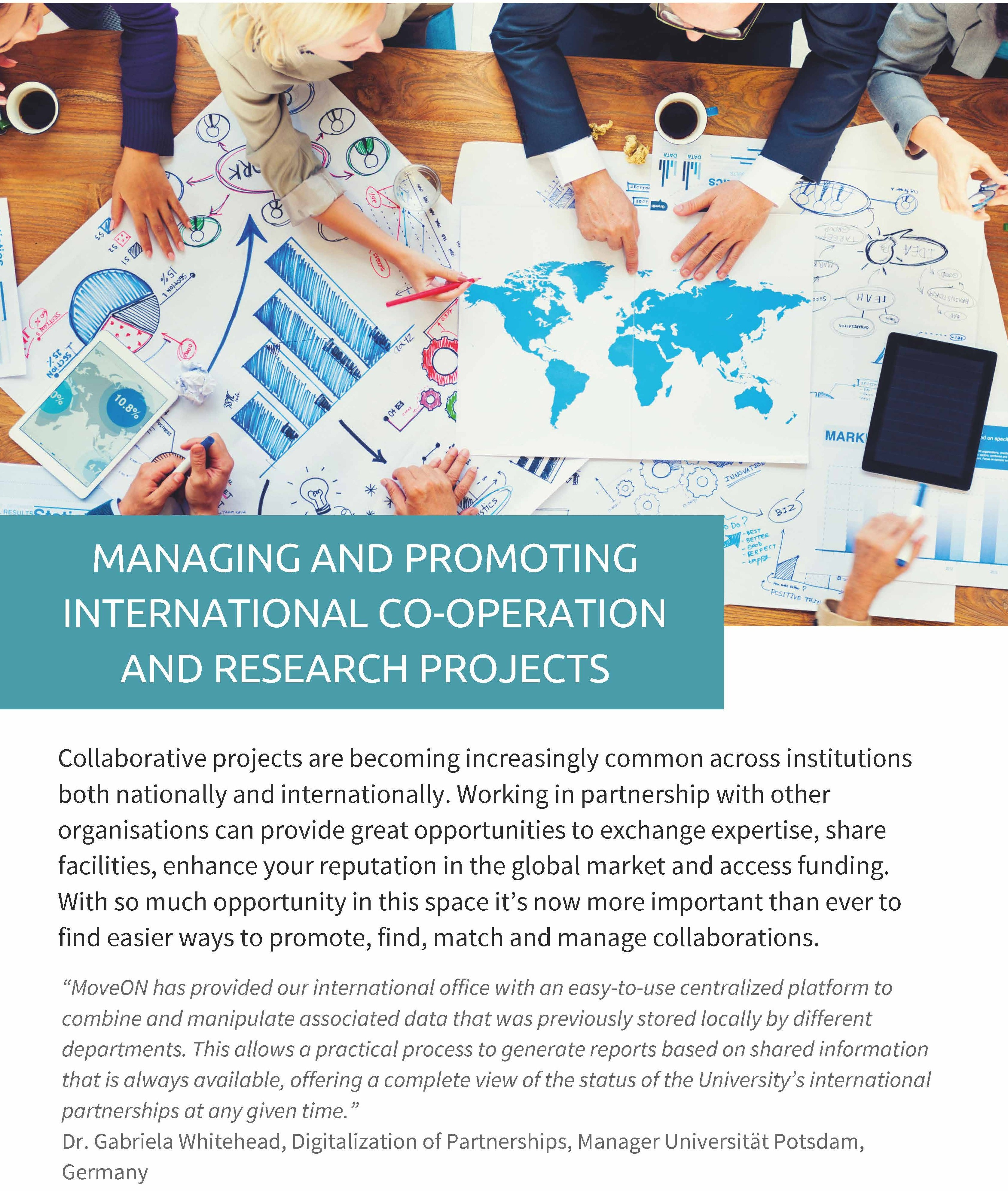 Managing and Promoting International Co-operation and Research Projects Page_1