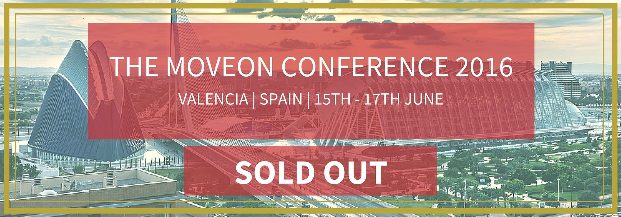 MoveON Conf 16 - Sold out