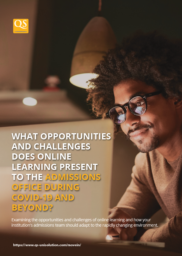 What Opportunities and Challenges Does Online Learning Present to the Admissions Office During COVID-19 and Beyond Whitepaper